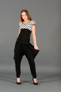 укороченные брюки- галифе