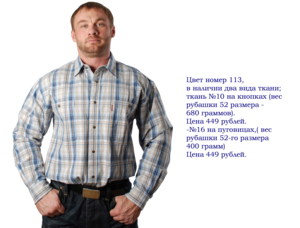 "Рубашки стиля №Кантри"""