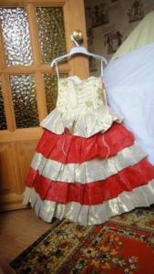 платье  для принцессы,
