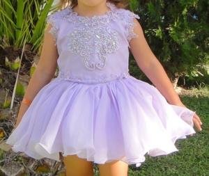 Платье нарядное, США.
