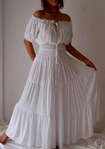 Платье Балийское белое