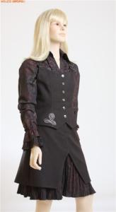 Школьный комплект (блузка, юбка, жилет)