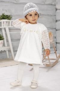 Комплект Платье+болеро+шапочка