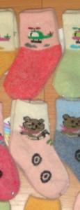Носочки детские тёплые