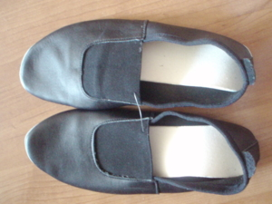 Чешки черные 24,5 см (натуральная кожа)
