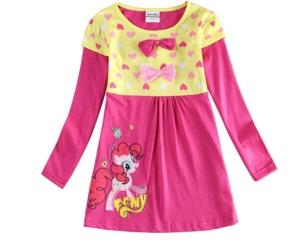 Платье розовое Пони Нова