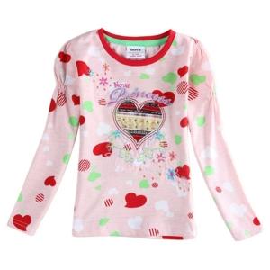Джемпер Нова розовый с сердцем
