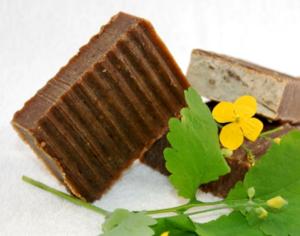 Мыло-скраб натуральное На травах