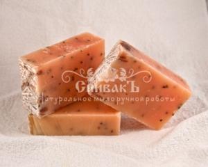 Мыло-скраб натуральное Лемонграсс