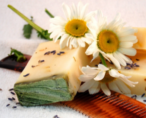 Мыло-шампунь натуральное Цветочное