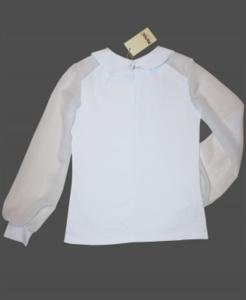 Новая блузка школьная Mattiel, белая