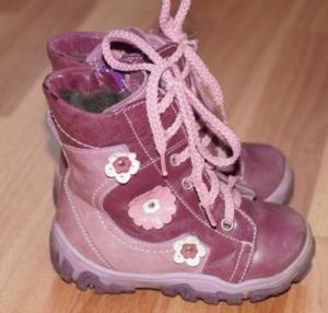 Зимние ботинки натуральная кожа натуральный мех