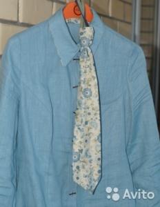 Комплект рубашка+галстук