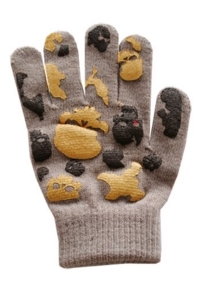 Перчатки демисезонные на 4-5 лет