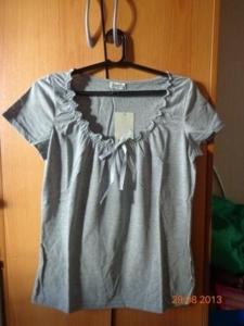 футболка серая