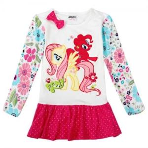 Платье Нова пони розовый низ