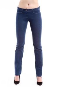 Брюки Мерлис р.44 из джинсовой ткани