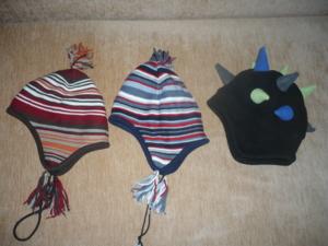 Трикотажные шапки на мальчика или девочку