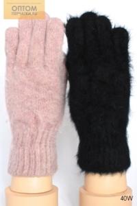 Перчатки женские ангорковые