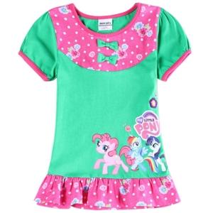 Платье Пони зеленое Нова