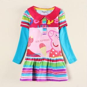 Платье пеппа цветное Нова