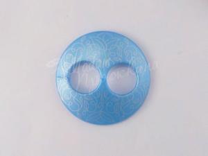Пуговица Круглая матовая-Дизайн-10.6  золото