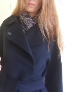 пальто шерсть шелк