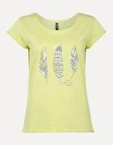 Футболка Takko T-Shirt mit Ethno-Print