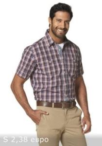 Рубашка короткий рукав