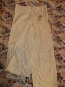 брюки лен