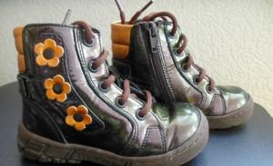 Ботиночки лак