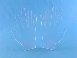 Подставка РУКА-2 шт (кольца,маникюр, перчатки)
