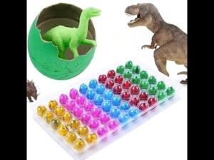 Динозаврик из яйца вырастайка