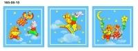 Детские носовые платочки (комплект 3 шт.)