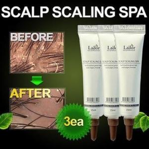 Спа ампула для глубокого очищения кожи головы