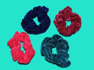 Резинка бархатная цветная ( D=14см ) №В-307
