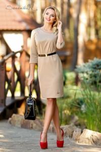 Платье бежевое Seventeen