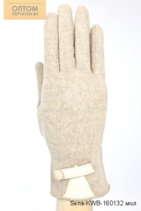 Сенсорные кашемировые женские перчатки