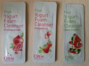 Йогуртовая пенка для умывания Fruits Yogurt Foam