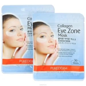 Коллагеновая маска-патчи для кожи вокруг глаз