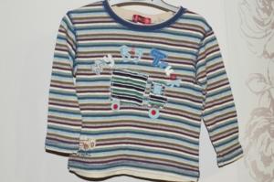 2 футболки с длинным рукавом р.98