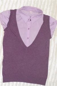 Рубашка с коротким рукавом Zolla р.42-44