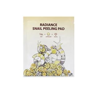 Пилинг-пэд с муцином улитки Radiance Snail Peeling