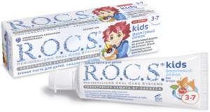 убная паста R.O.C.S kids Фруктовый рожок