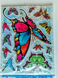 Наклейки для декорирования Бабочки