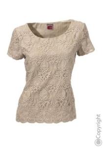 Кружевная блузка Travel Couture р.38 (на 46)