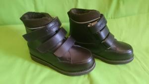 32. Демисезонные ботинки Ортодон новые. нат кожа
