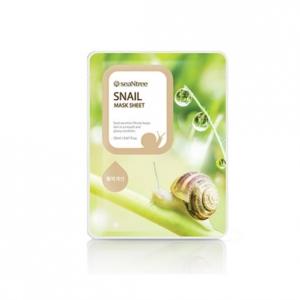 Тканевая маска с экстрактом муцина улитки Snail