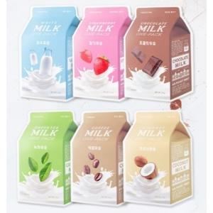 Тканевая маска Milk One-Pack A'Pieu
