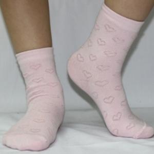 НД-501 Носки детские ''Сердечки'' розовые